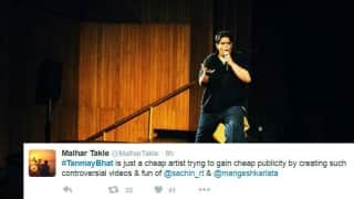 Twitterati continue to lambast Tanmay Bhat for his video on Sachin Tendulkar and Lata Mangeshkar