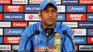 MS Dhoni says he doesn't like to be over-expressive