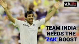 Six reasons why Zaheer Khan should be India's bowling coach