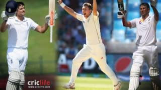 Video: Alastair Cook, Trent Boult and Younis Khan included in top 20 cricketers of 2015 by Lord's