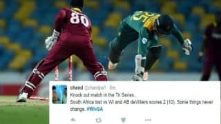 Twitter reacts to West Indies' fantastic triumph against South Africa to chisel their path in final