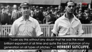 15 iconic quotes on Jack Hobbs