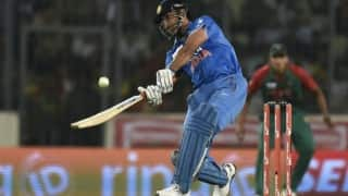 VIDEO: MS Dhoni's SIX that sealed Asia Cup T20 2016