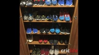 Kevin Pietersen steps into Imelda Marcos's shoes!