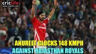 Anureet Singh: The KXIP paceman who is bowling quicker than Mitchell Johnson!
