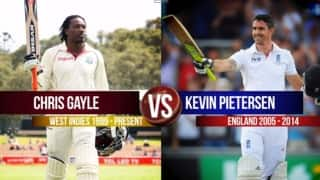 Video: Chris Gayle or Kevin Pietersen – who is better?