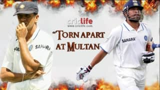Clash of the titans: Sachin Tendulkar- Rahul Dravid controversy at Multan