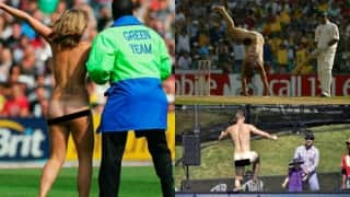 20 instances of streaker invasions in cricket (Part I)