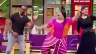 Videos: Dwayne Bravo flaunts his dancing skills with Kapil Sharma; conveys a special message