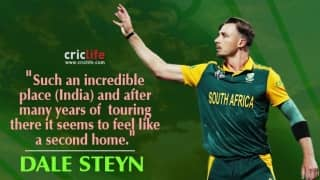 In India, Dale Steyn finds a second home