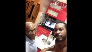 Gayle's father keen on watching the batsman battle Johnson