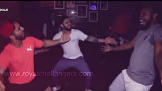 Watch: Virat Kohli, Mandeep Singh and Yo Yo Chris Gayle dance to the 'bhangra' beats