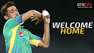 Welcome home, Mohammad Amir