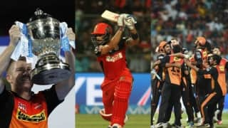 Sunrisers Hyderabad's maiden IPL title and 17 other 'Firsts' in IPL 2016