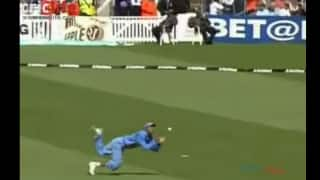 Mohammad Kaif's stunner results in dismissal of Nick Knight