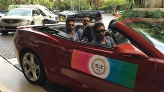 PHOTOS: Indian cricketers have a ball in Miami