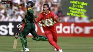 When a Neil Johnson inspired Zimbabwe tamed their dominant neighbours South Africa in World Cup 1999