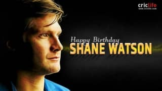 Shane Watson: 10 facts about the Australian all-rounder