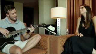 Video: Mr. and Mrs. AB de Villiers' singing feat