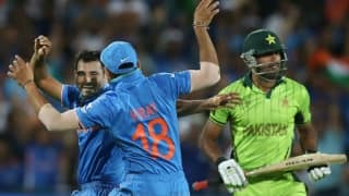 Virat Kohli, Mohammed Shami spoil Pakistan's party at ICC Cricket World Cup 2015