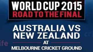 ICC Cricket World Cup 2015: Australia vs New Zealand, road to the final