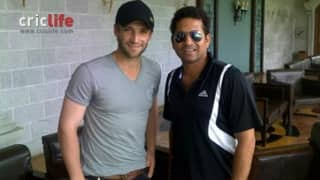 Meeting 'idol' Sachin Tendulkar had helped Phil Hughes grow 'mentally' stronger
