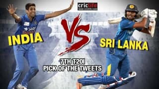 Pick of the tweets: Asia Cup 2016, India vs Sri Lanka, 7th T20I at Mirpur