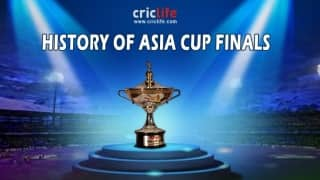 Infographics: History of Asia Cup Finals