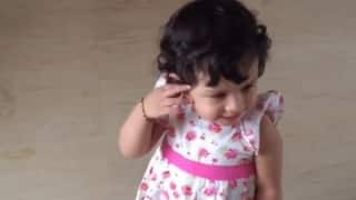 VIDEO: When a 18-month-old Ziva did an army drill