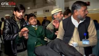 Cricketers react to Peshawar school attack by Taliban