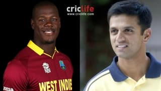 Carlos Brathwaite thrilled to be working alongside 'idol' Rahul Dravid