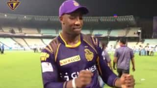 Video: Kolkata Knight Riders celebrate victory over Kings XI Punjab the 'Punjabi' way
