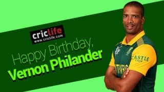 Vernon Philander: Life and times