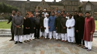 Pakistan Cricket team celebrates Eid in England