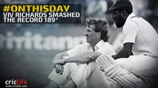 Video: Viv Richards' record of highest ODI score that stood tall for almost 13 years