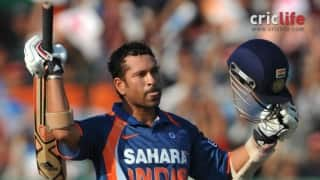 Two-digit numbers never scored by Tendulkar