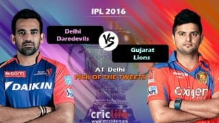 IPL 2016, Match 23, Pick of the tweets: Delhi Daredevils vs Gujarat Lions at Delhi