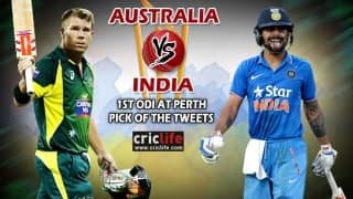Pick of the tweets: Australia vs India, 1st ODI at Perth