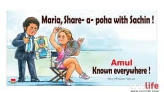 Amul more renowned than Sachin!