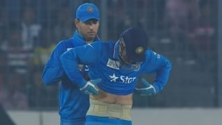 Yuvraj Singh, MS Dhoni and a picture that says 'all is well' in Indian cricket