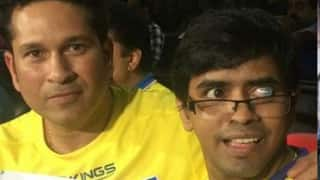 Sachin Tendulkar elated at meeting specially-abled cartoonist after two decades