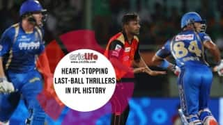 17 last-ball wins while chasing in IPL history