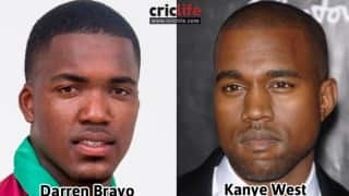 Darren Bravo and Kanye West