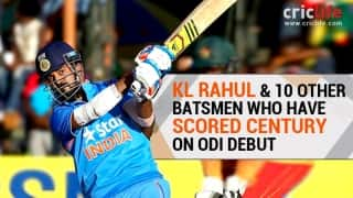 Infographic: KL Rahul, the first Indian to score a century on ODI debut