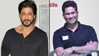 Sachin Tendulkar replies to his 'fan' Shahrukh Khan on Twitter