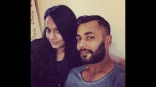 Stuart Binny with wife Manyati Langar
