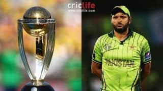 Shahid Afridi: Only batsman to play five World Cups without scoring a half-century!