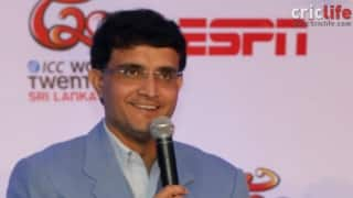 Sourav Ganguly says that making Ranji Trophy debut in the final was the best moment in his life
