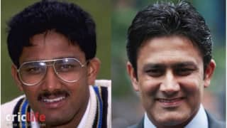 Anil Kumble:  Studious looks gives way to a classy personality