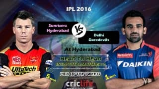 IPL 2016, Match 42, Pick of the tweets: Sunrisers Hyderabad vs Delhi Daredevils at Hyderabad